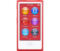 APPLE iPod nano - 16 GB, 7th Generation, (PRODUCT)RED