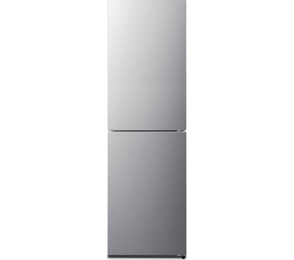 LOGIK LNF55X18 50/50 Fridge Freezer - Inox