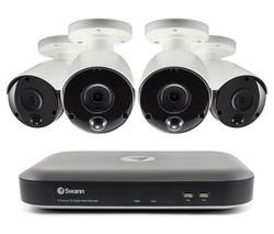 SWANN SWDVK-849804 8-Channel 5 MP Smart Security System - 4 Cameras