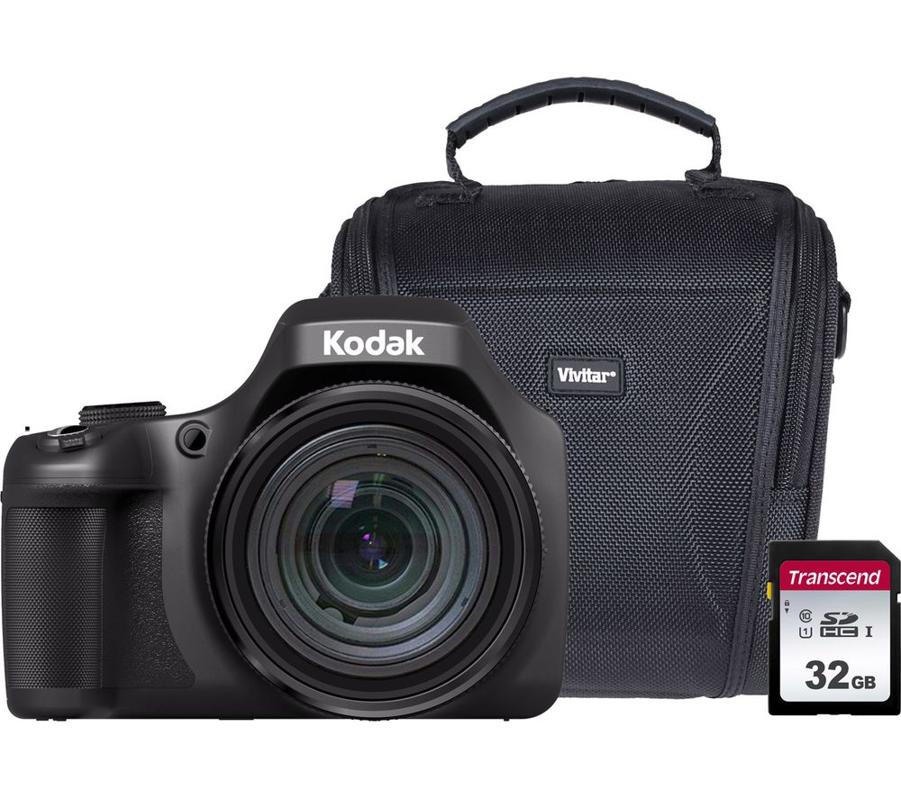 KODAK PIXPRO AZ901 Bridge Camera & Accessories Bundle
