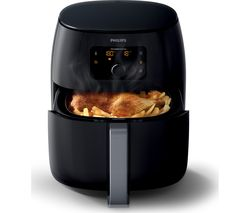 PHILIPS Viva Collection XXL HD9650/99 Air Fryer - Black