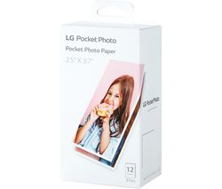 LG PT3013 Pocket Size Glossy Photo Paper - 36 Sheets