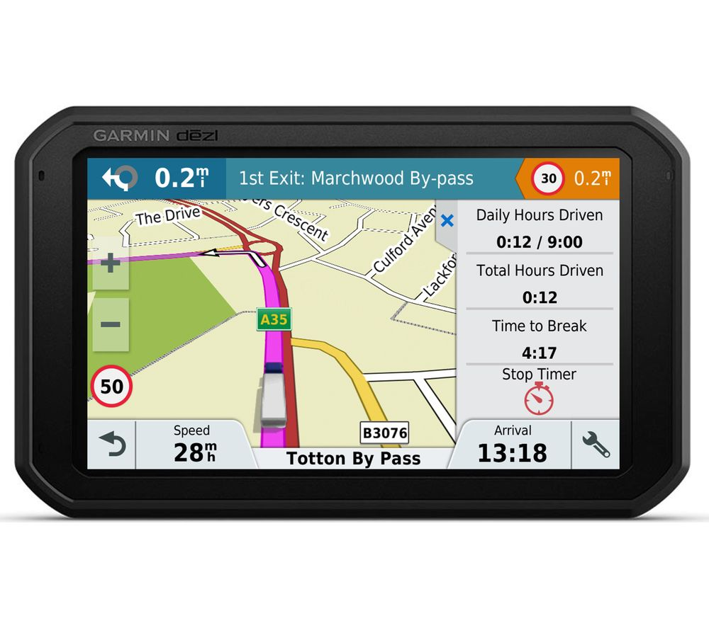 GARMIN Dezl 780LMT-D HGV 6.95 inch Sat Nav - Full Europe Maps