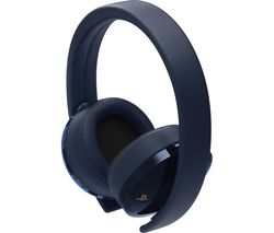 SONY PS4 500 Million Limited Edition Gold Wireless 7.1 Gaming Headset - Blue