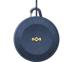 HOUSE OF MARLEY No Bounds EM-JA015-BL Portable Bluetooth Speaker - Blue