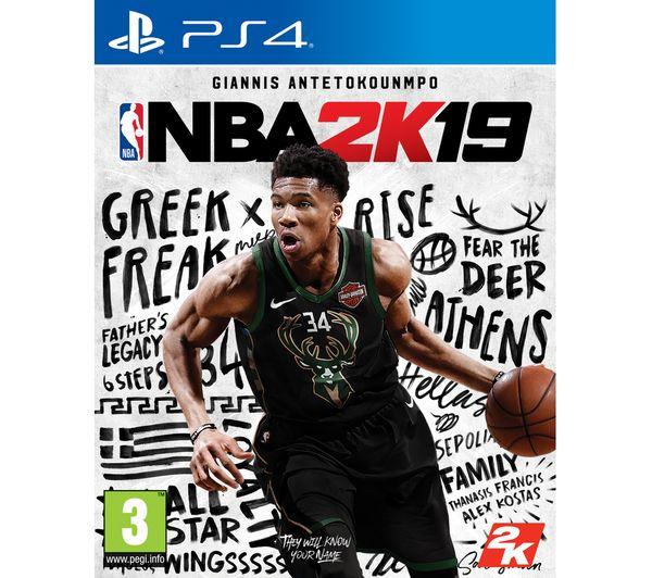Image of PS4 NBA 2K19