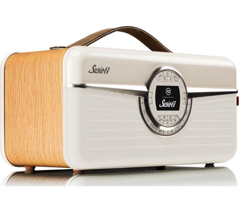 VQ Susie-Q Portable DAB+ Smart Bluetooth Radio - Oak