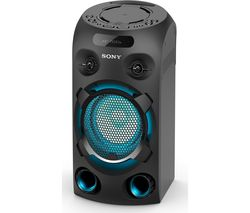 MHC-V02 Bluetooth Megasound Party Speaker - Black