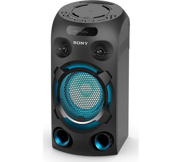 Image of SONY MHC-V02 Bluetooth Megasound Party Speaker - Black