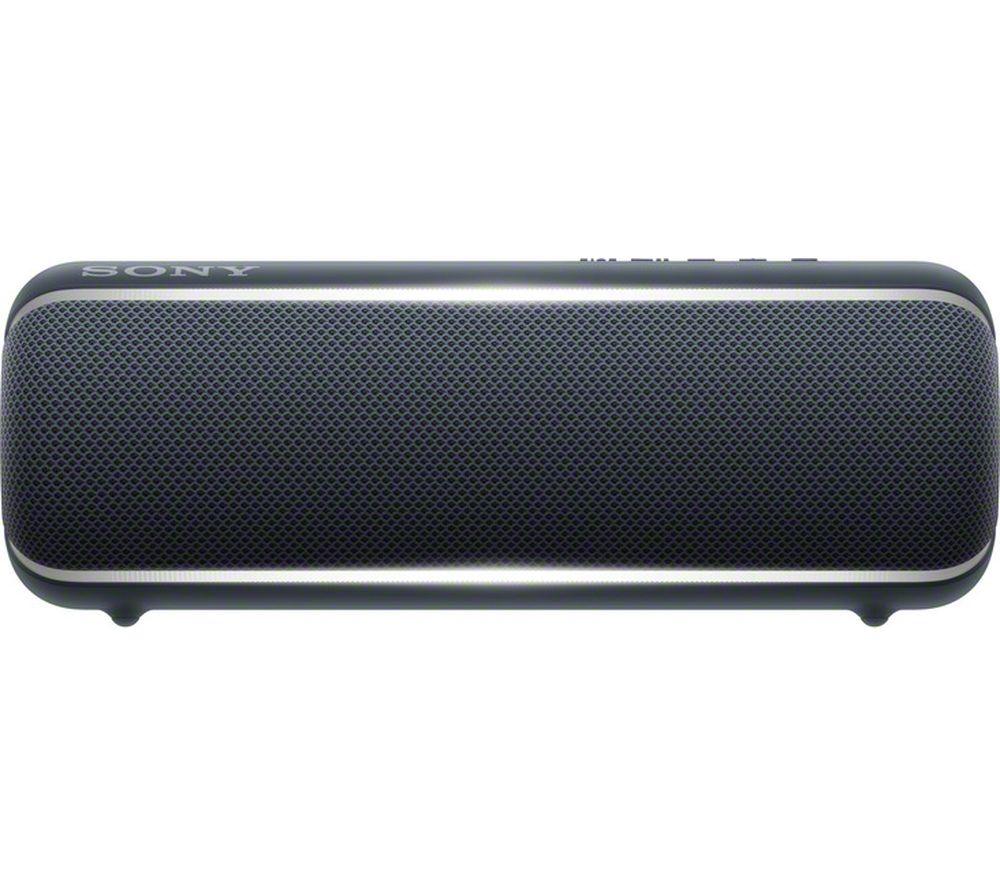 SONY EXTRA BASS SRS-XB22 Portable Bluetooth Speaker - Black, Black
