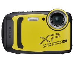 FUJIFILM FinePix XP140 Tough Compact Camera - Yellow