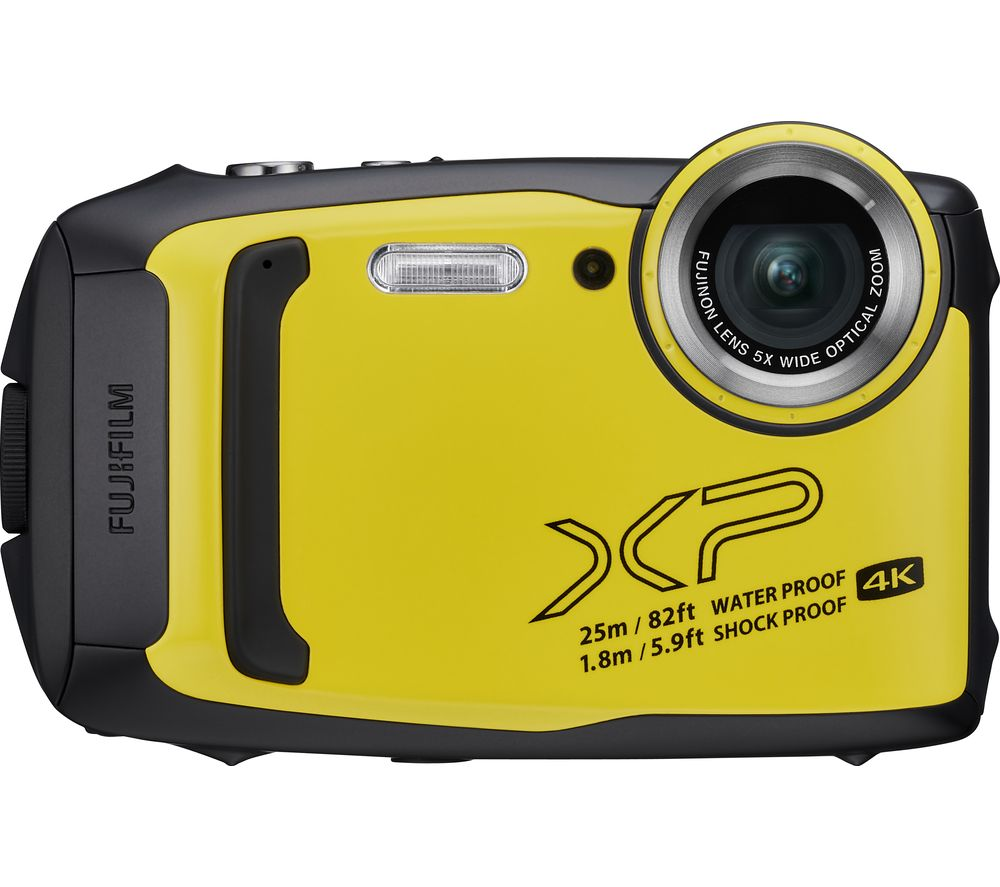 Fujifilm Finepix Xp140 Tough Compact Camera Yellow Yellow