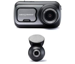 NEXTBASE 422GW Dash Cam with Amazon Alexa & Rear Window Dash Cam Bundle