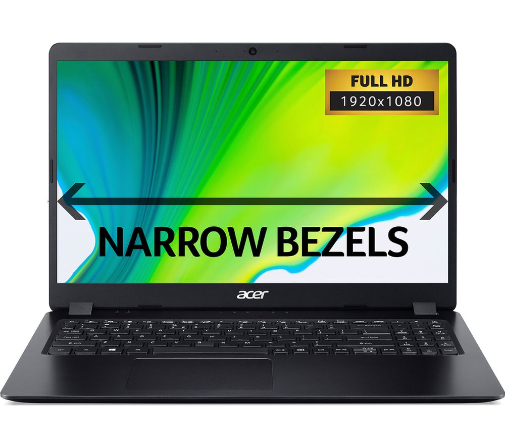 "ACER Aspire 5 A515-43 15.6"" AMD Ryzen 7 Laptop - 256 GB SSD, Black"