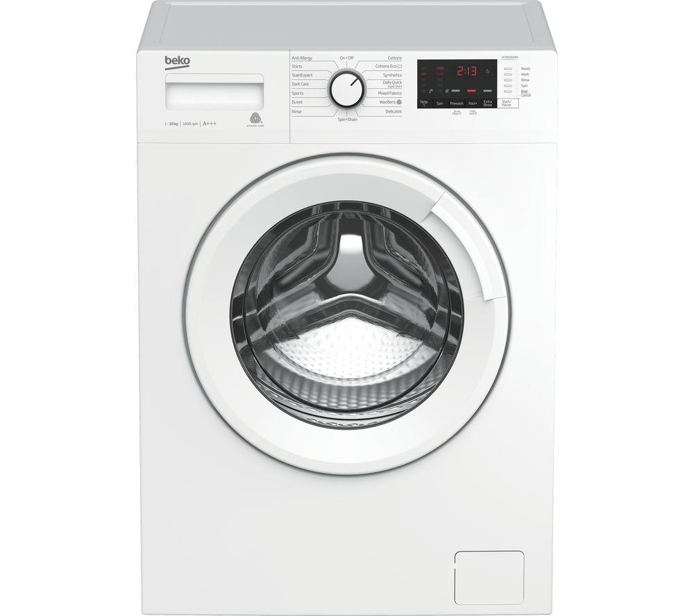 BEKO WTB1041R4W 10 kg 1400 Spin Washing Machine - White