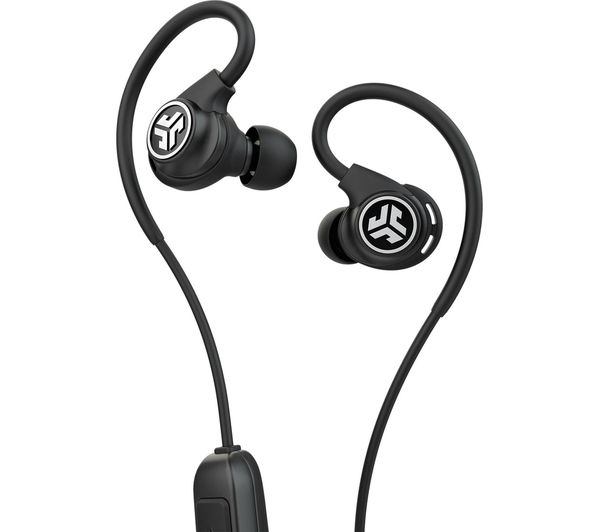 Image of JLAB AUDIO Fit Sport 3 Wireless Bluetooth Earphones - Black