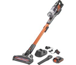 BLACK + DECKER PowerSeries Extreme BHFEV182C-GB Cordless Vacuum Cleaner - Orange