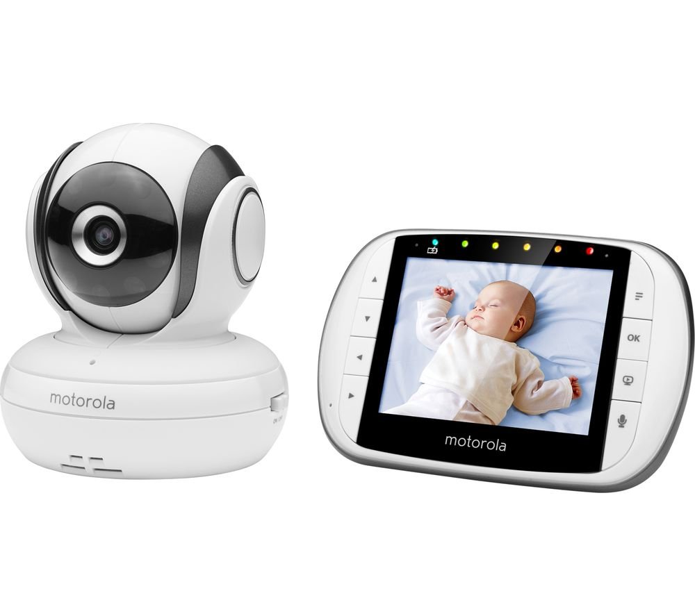 "MOTOROLA MBP36S 3.5"" Video Baby Monitor"