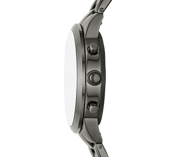 Fossil Collider Hybrid Hr Ftw7009 Smartwatch Smoke Stainless Steel Strap Fast Delivery Currysie