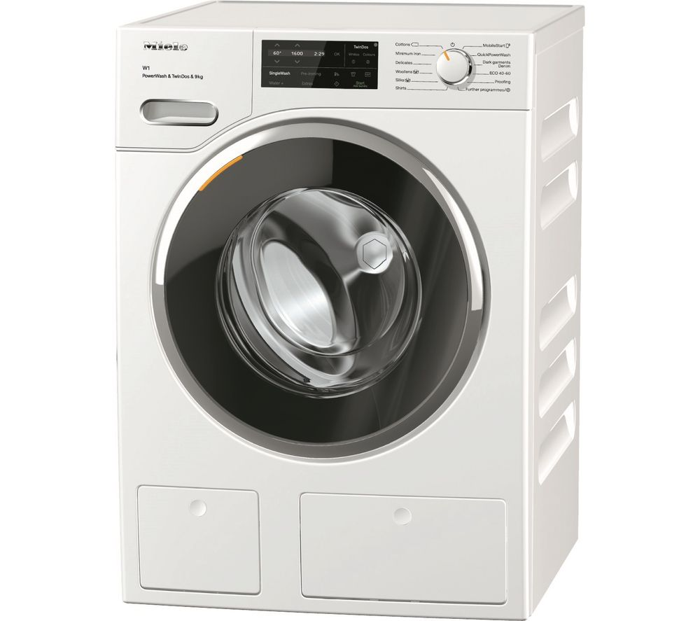 MIELE W1 PowerWash & TwinDos WWI 860 WiFi-enabled 9 kg 1400 Spin Washing Machine - White