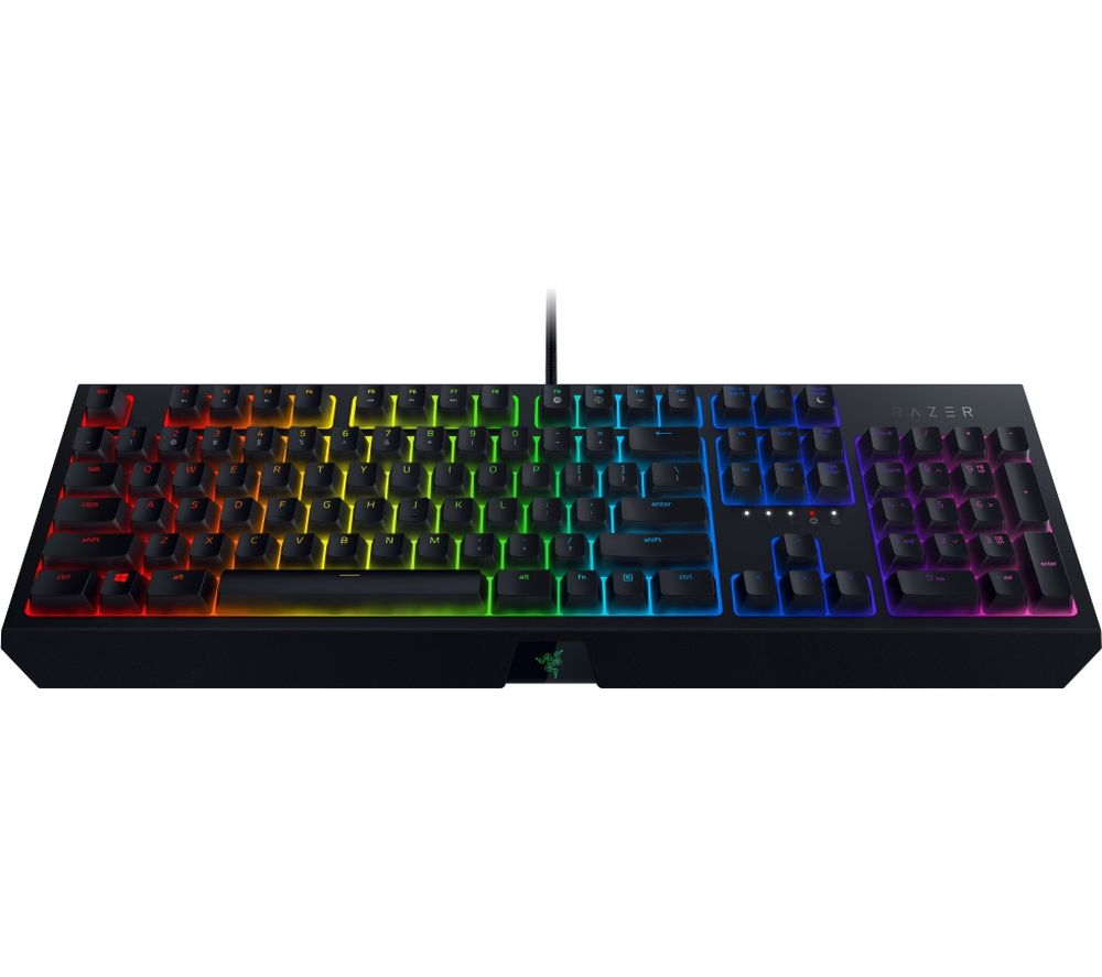 Image of BlackWidow Mechanical Gaming Keyboard, Green