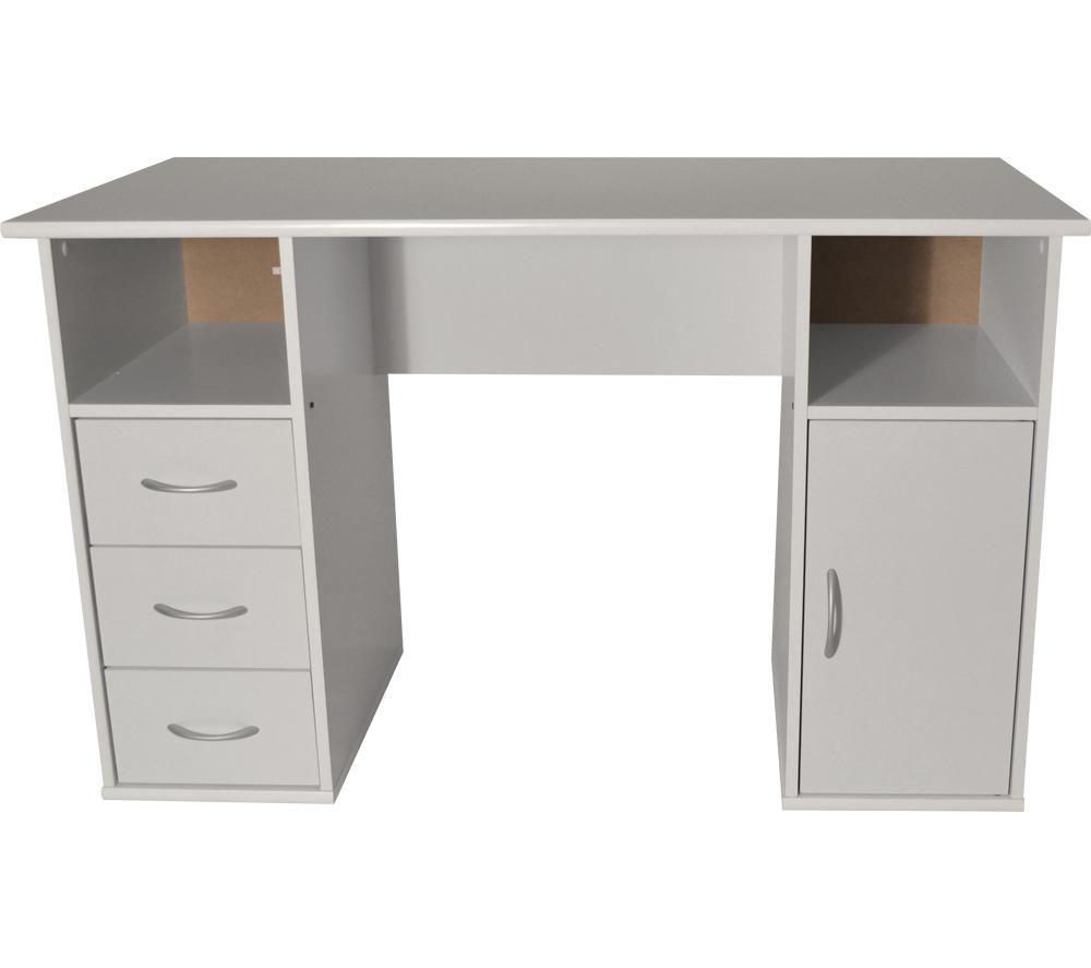 ALPHASON Maryland Desk - White