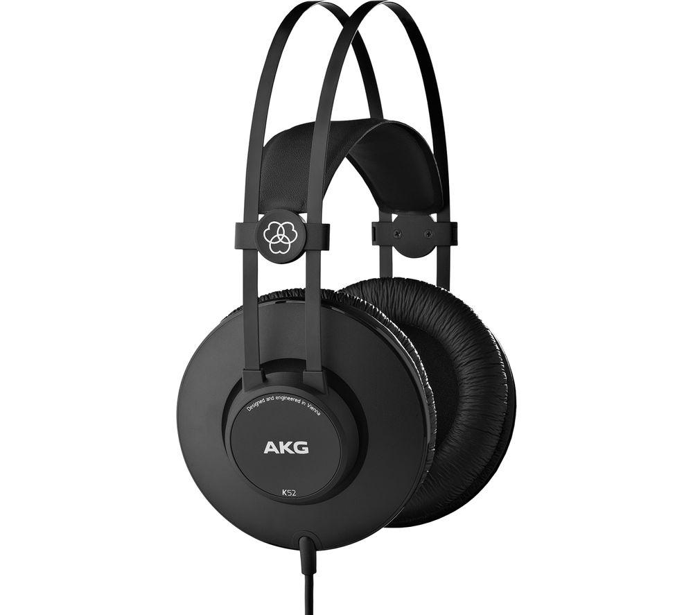 Image of K52 Headphones - Black, Black