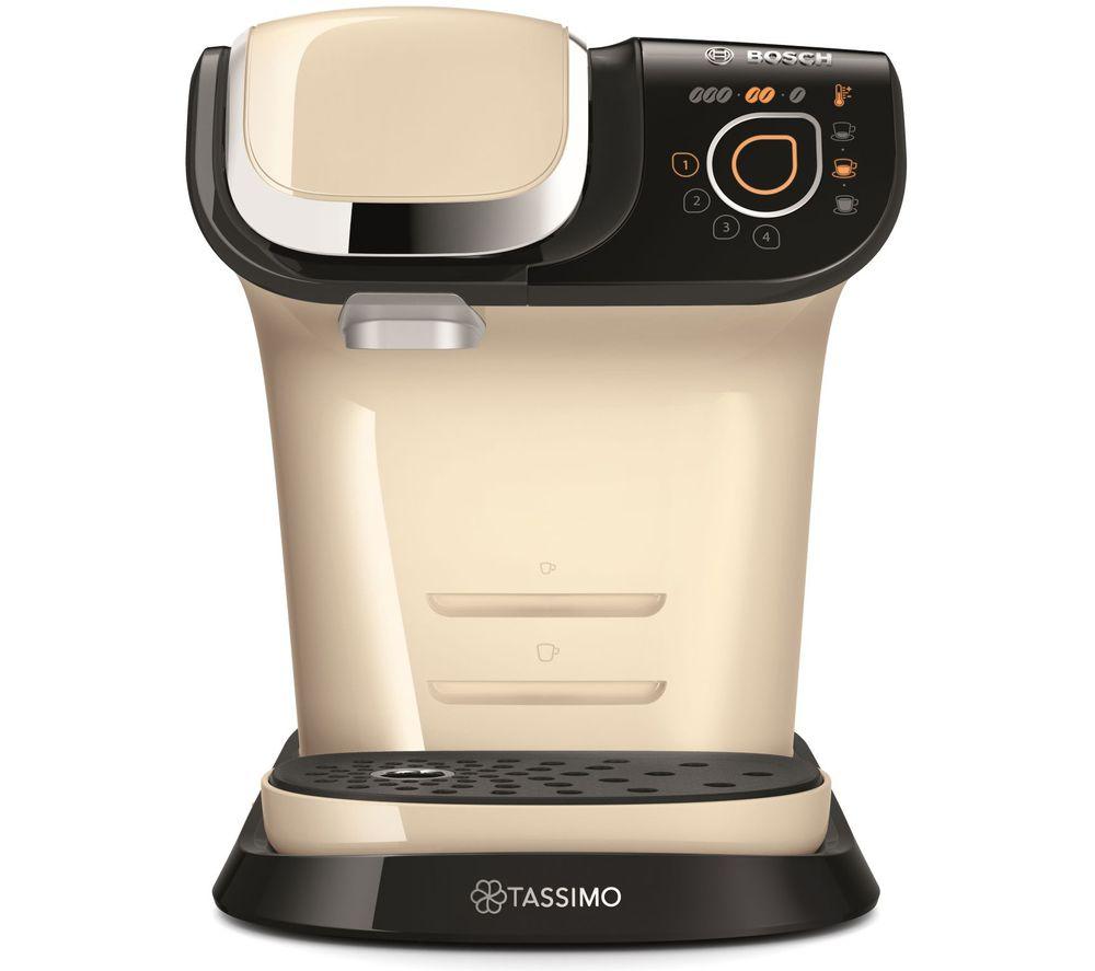 TASSIMO by Bosch My Way TAS6507GB Coffee Machine - Cream, Cream
