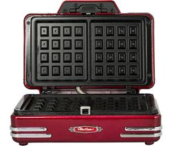 RWM200SMART Retro Waffle Maker - Red