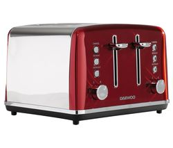 Kensington SDA1587 4-Slice Toaster - Red