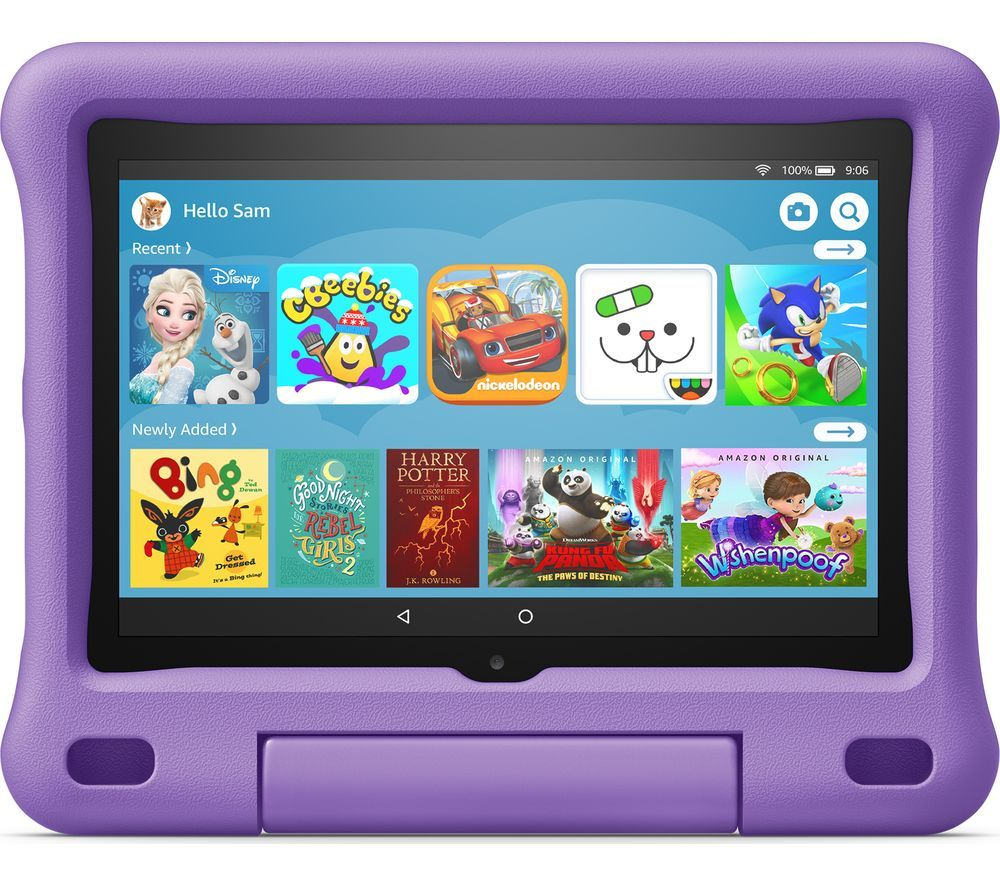 "Image of AMAZON Fire HD 8"" Kids Edition Tablet (2020) - 32 GB, Purple, Purple"