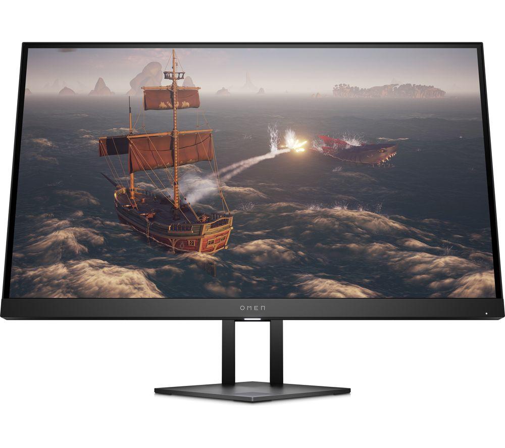 "Image of HP OMEN 27i Quad HD 27"" LED Gaming Monitor - Black, Black"