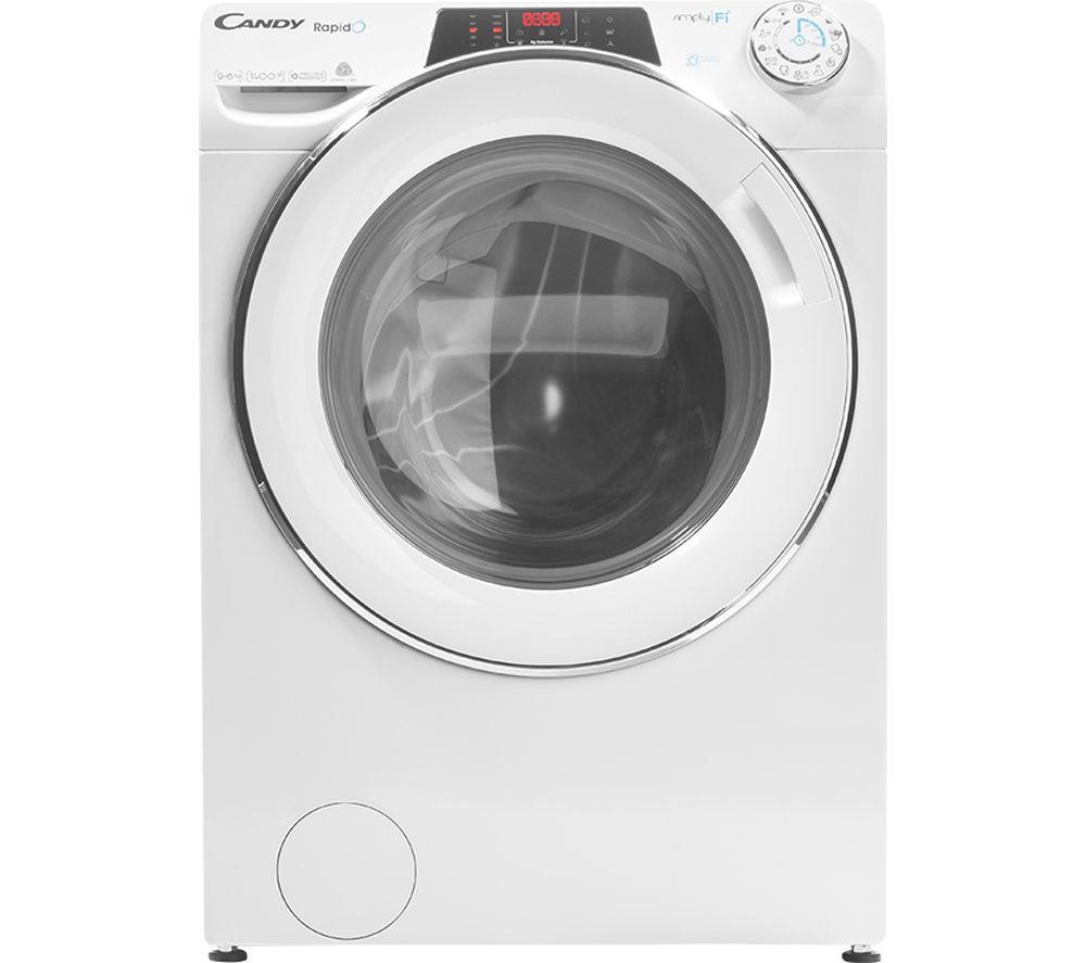 CANDY Rapido ROW4964DWMCE WiFi-enabled 9 kg Washer Dryer - White