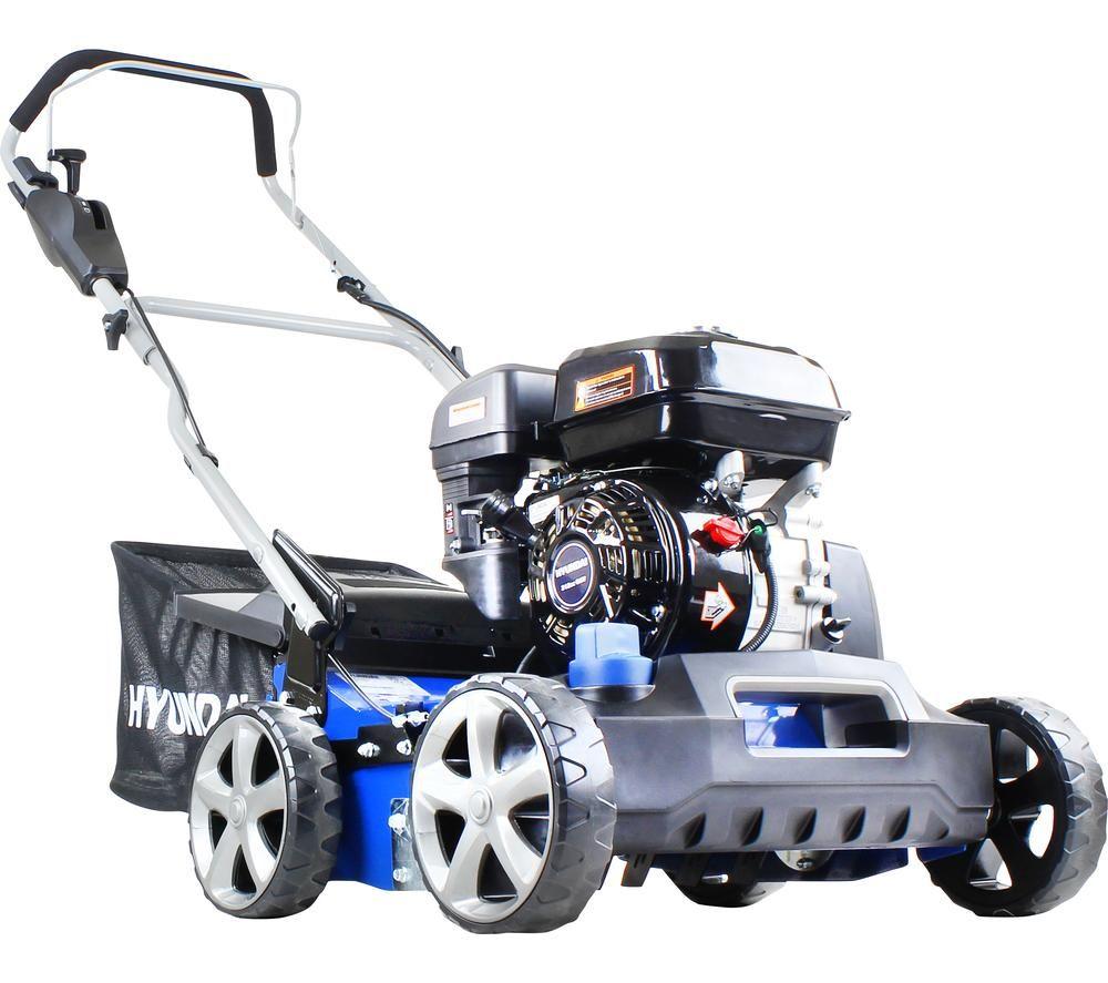 HYUNDAI HYSC210 Cordless Rotary Lawn Mower - Blue