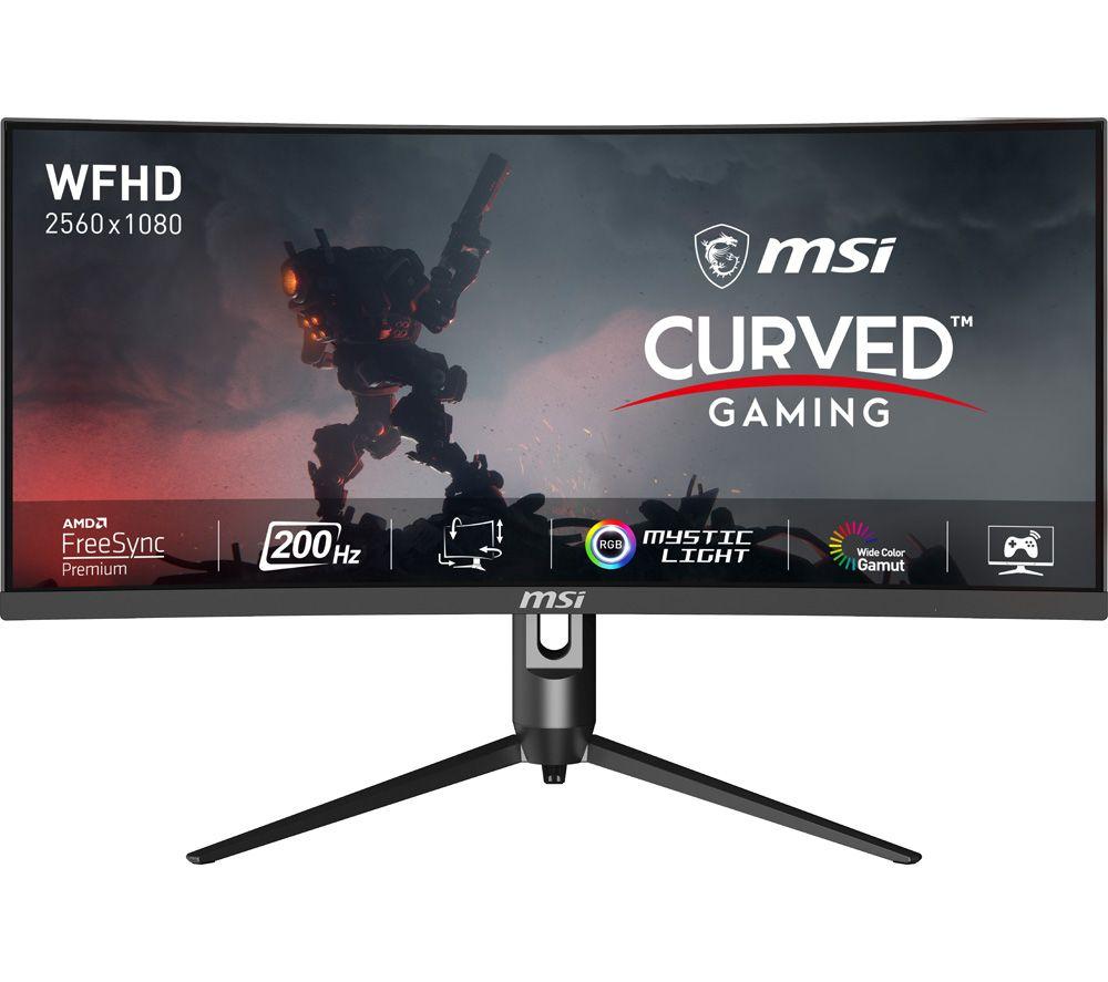 "MSI Optix MAG301CR2 Full HD 30"" Curved Gaming Monitor - Black"