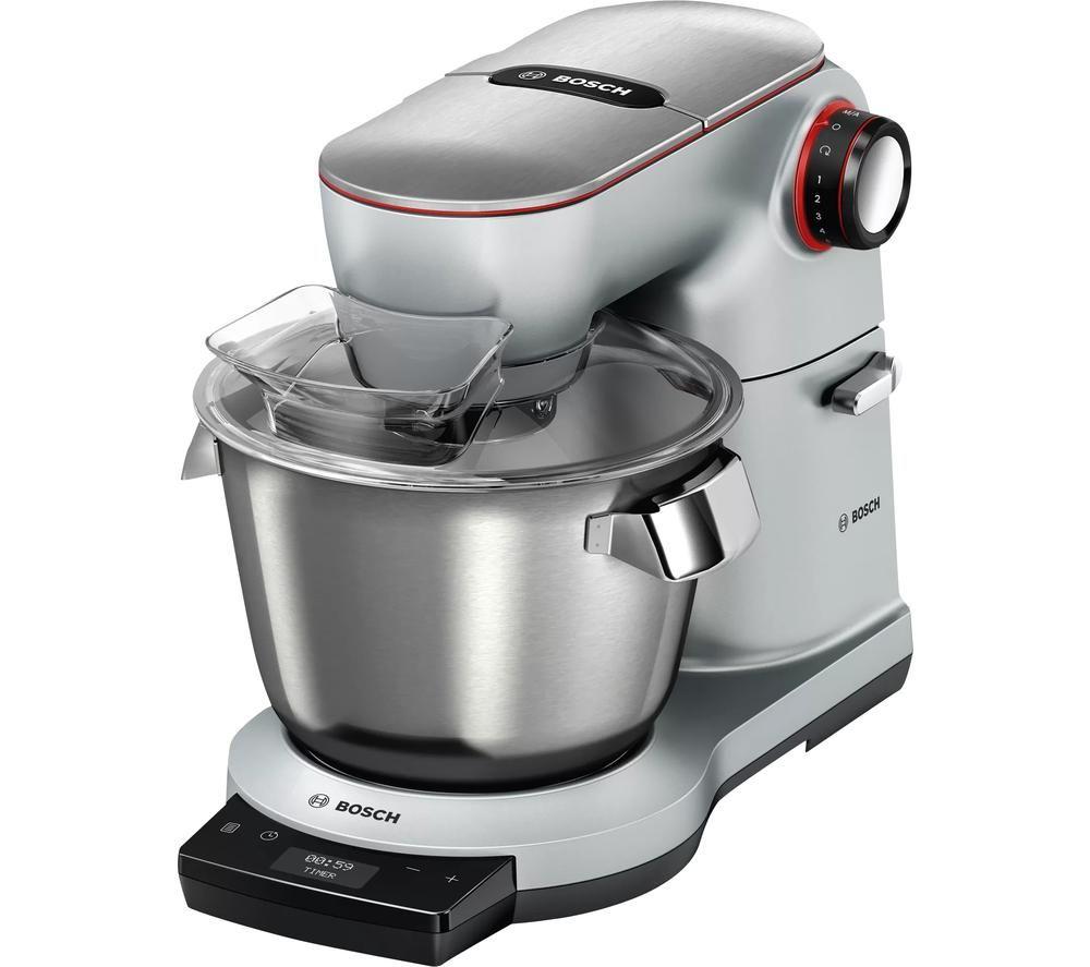 Image of BOSCH OptiMUM MUM9GX5S21 Kitchen Machine - Silver & Black, Silver