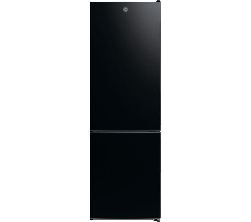 HOOVER HMDNB 6184BK 70/30 Fridge Freezer - Black, Black