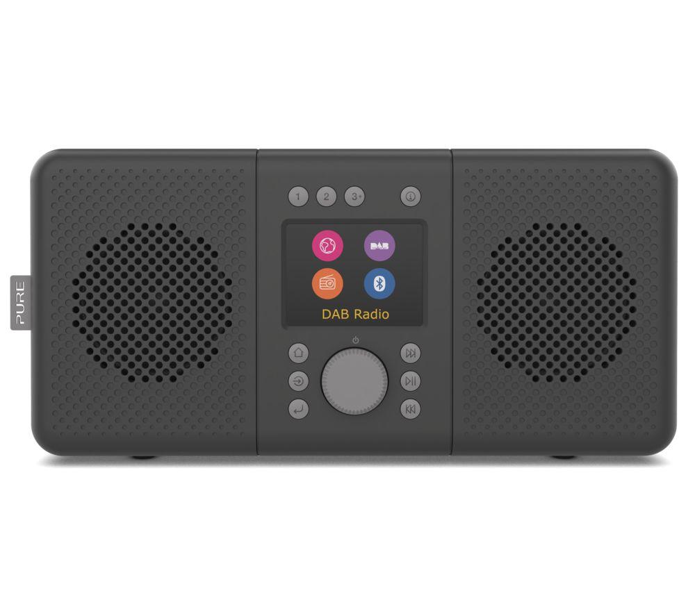 PURE Elan Connect DAB? Smart Bluetooth Radio - Black