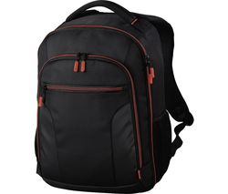 Miami 190 DSLR Camera Backpack - Black & Red