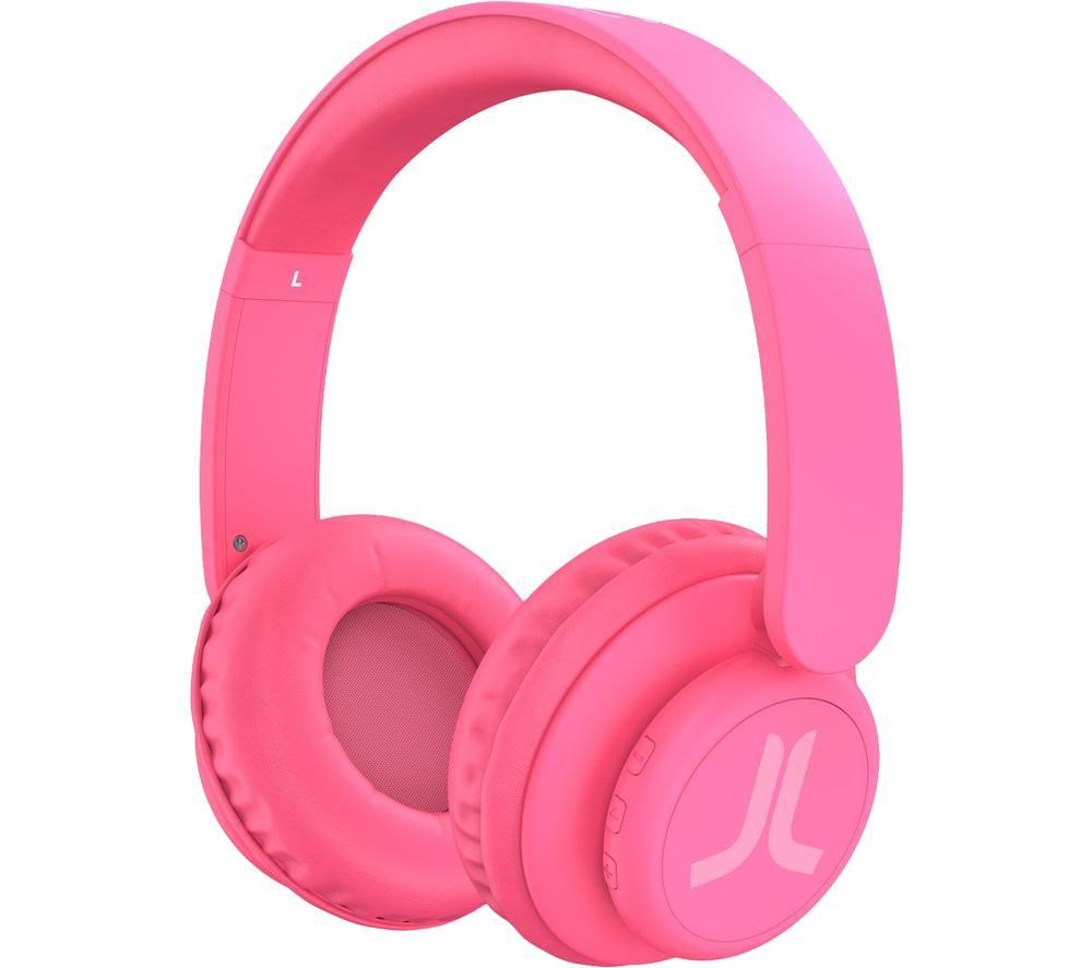WESC 41420 Wireless Bluetooth Headphones - Neon Pink