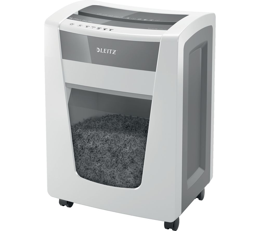 LEITZ IQ Office Pro P5+ Micro Cut Paper Shredder