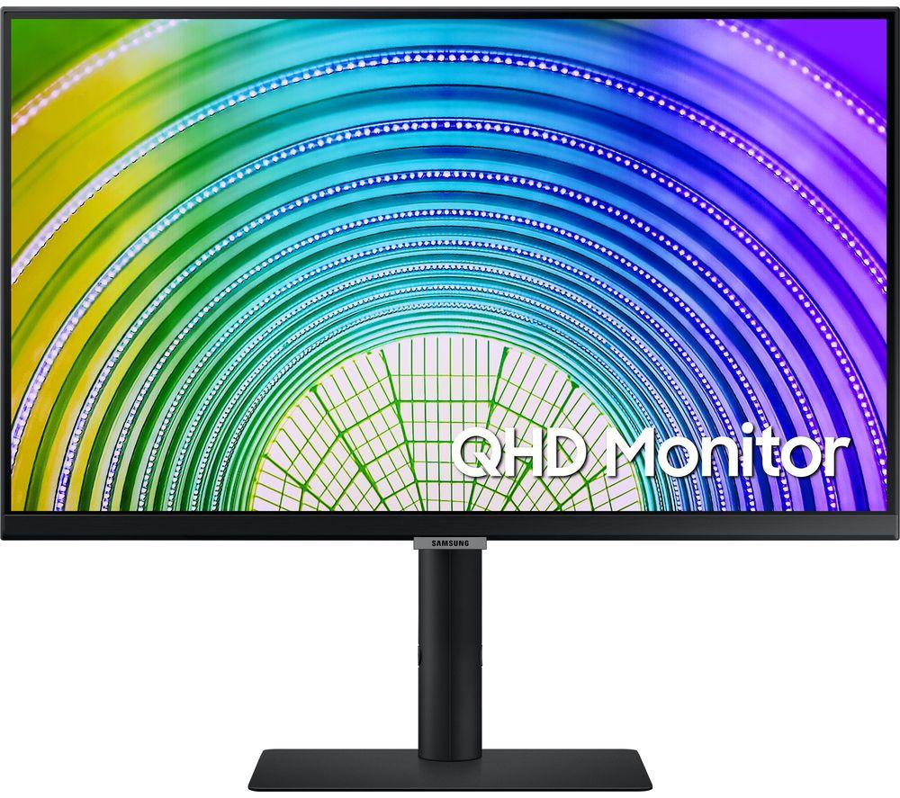 "SAMSUNG LS27A600UUUXXU Quad HD 27"" LED Monitor - Black"
