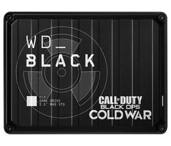_BLACK P10 Call of Duty: Black Ops Cold War Edition Game Drive - 2 TB, Black