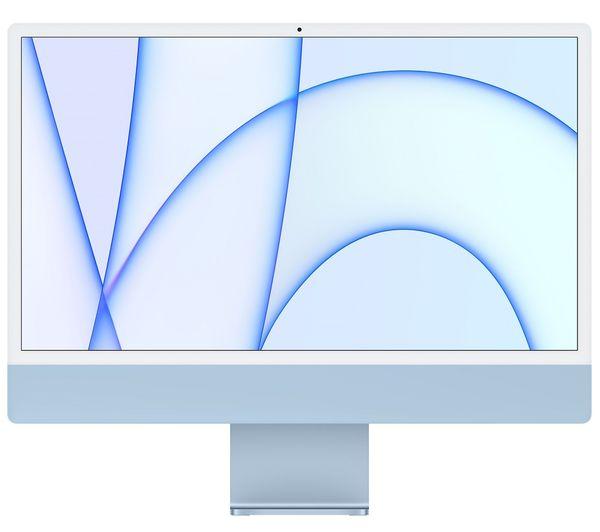 "Image of APPLE iMac 4.5K 24"" (2021) - M1, 256 GB SSD, Blue"