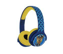 PAW724 Paw Patrol Wireless Bluetooth Kids Headphones - Chase