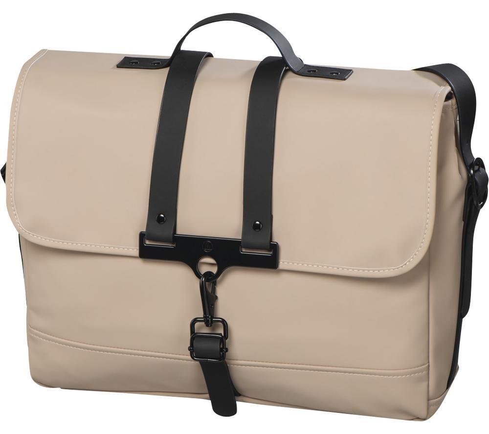 "HAMA Perth 14.1"" Laptop Messenger Bag - Beige"