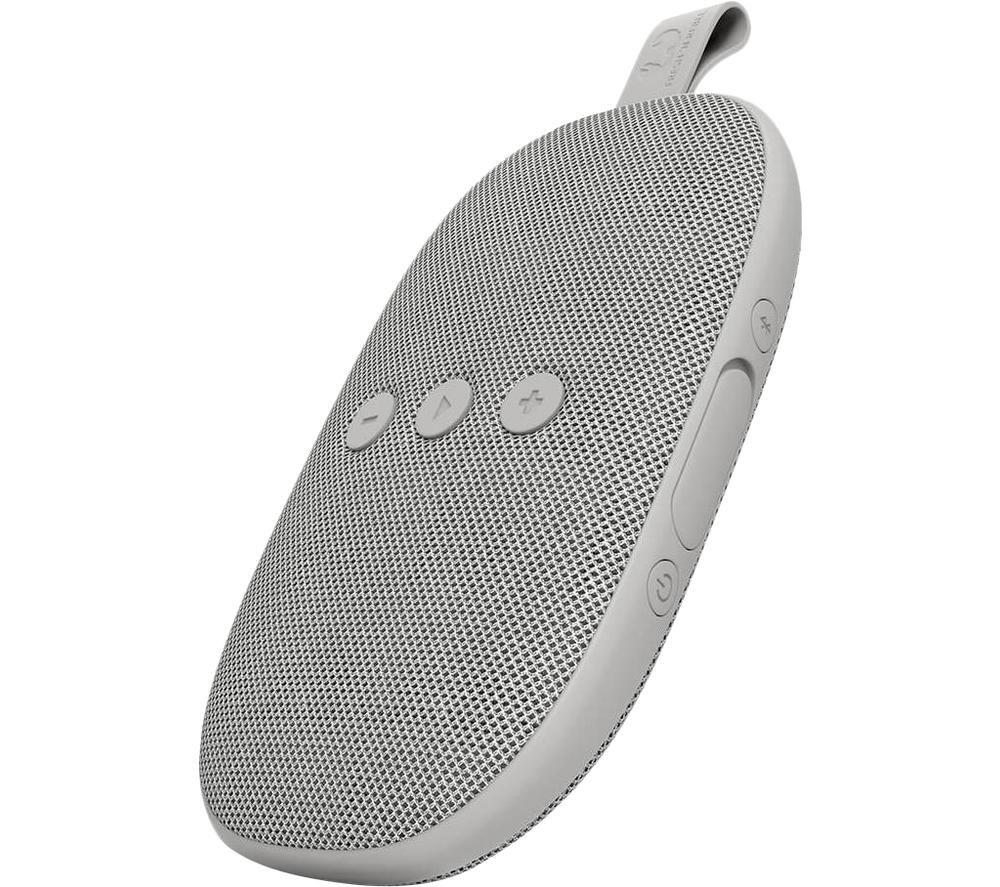 FRESH N REBEL Rockbox Bold X Portable Bluetooth Speaker - Ice Grey