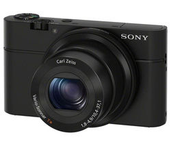 Cyber-shot DSC-RX100 I High Performance Compact Camera - Black