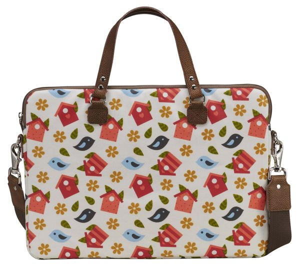 "Image of GOJI GFLB13 16"" Laptop Bag - Birdhouse"