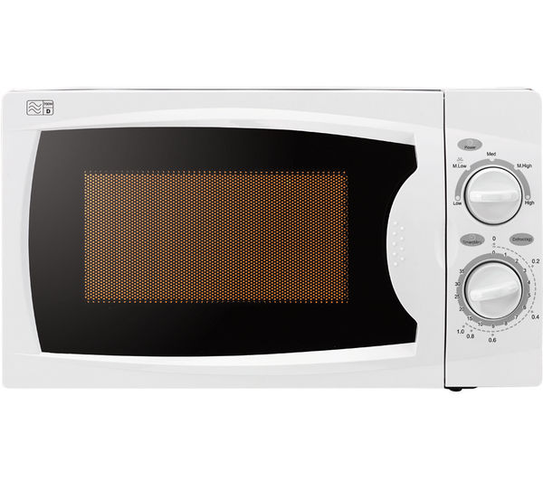 Image of ESSENTIALS C17MW14 Solo Microwave - White